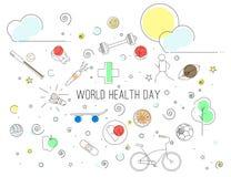 Día de salud de mundo Foto de archivo