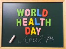 Día de salud de mundo Imagen de archivo