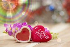 Día de San Valentín, colección Foto de archivo