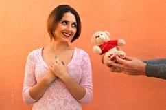 Día de San Valentín del santo Fotos de archivo libres de regalías
