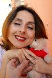Día de San Valentín del santo Foto de archivo libre de regalías