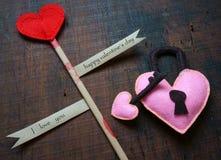 Día de San Valentín, el 14 de febrero Imágenes de archivo libres de regalías