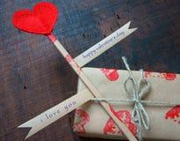 Día de San Valentín, el 14 de febrero Foto de archivo