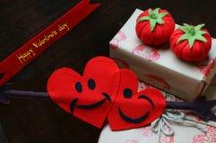 Día de San Valentín feliz, fondo asombroso Fotografía de archivo