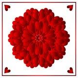 Día de San Valentín feliz, tarjeta del vector libre illustration