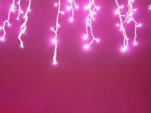 Día de San Valentín ligero rosado del punto Fotografía de archivo