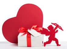 Día de San Valentín romántico fotos de archivo libres de regalías