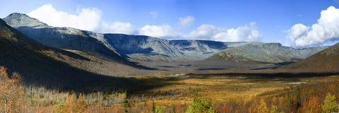 Día de septiembre en las montañas Imagen de archivo