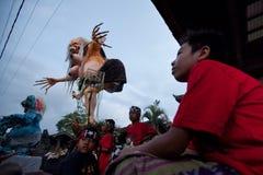 Día de silencio en Ubud, Bali, Indonesia Fotos de archivo
