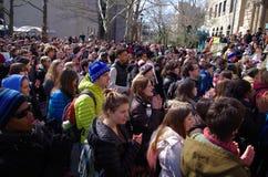 Día de solidaridad en la universidad de Oberlin Imágenes de archivo libres de regalías