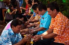 Día de Songkran Imagenes de archivo