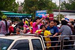 Día de Songkran Foto de archivo libre de regalías