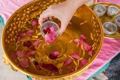 Día de Songkran Imagen de archivo