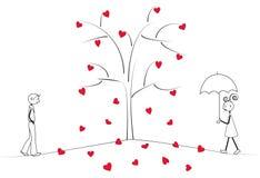 Día de St.Valentine Imagenes de archivo
