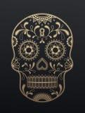 Día de Sugar Skull de los muertos Imagen de archivo