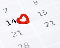 Día de tarjeta del día de San Valentín. Fotografía de archivo