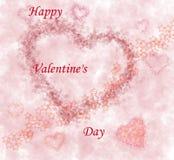 Día de tarjeta del día de San Valentín 2 Fotografía de archivo libre de regalías