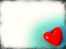 Día de tarjeta del día de San Valentín Foto de archivo