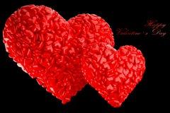Día de tarjeta del día de San Valentín Imagenes de archivo