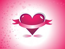 Día de tarjeta del día de San Valentín abstracto Imagenes de archivo