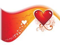 Día de tarjeta del día de San Valentín abstracto Foto de archivo