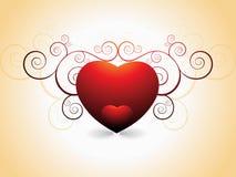 Día de tarjeta del día de San Valentín fantástico Imagenes de archivo