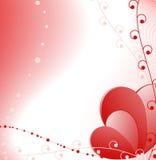 Día de tarjeta del día de San Valentín feliz. Imagenes de archivo