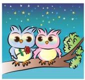 Día de tarjeta del día de San Valentín feliz Imagenes de archivo