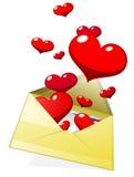 Día de tarjeta del día de San Valentín feliz Ilustración del Vector