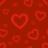 Día de tarjeta del día de San Valentín Modelo inconsútil Libre Illustration