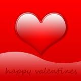 Día de tarjetas del día de San Valentín [03] Imagen de archivo libre de regalías
