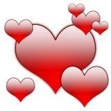 Día de tarjetas del día de San Valentín [05] Imagen de archivo libre de regalías