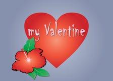 Día de tarjetas del día de San Valentín Foto de archivo