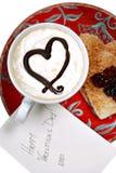 Día de tarjetas del día de San Valentín imagenes de archivo