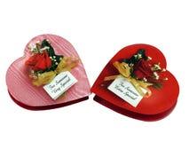 Día de tarjetas del día de San Valentín Foto de archivo libre de regalías