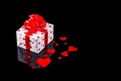Día de tarjetas del día de San Valentín de la tarjeta Fotos de archivo