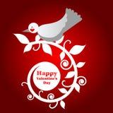 Día de tarjetas del día de San Valentín feliz Foto de archivo libre de regalías