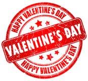 Día de tarjetas del día de San Valentín feliz Imagen de archivo libre de regalías