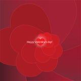 ¡Día de tarjetas del día de San Valentín feliz! Fotos de archivo libres de regalías