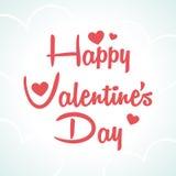 Día de tarjetas del día de San Valentín feliz Imágenes de archivo libres de regalías