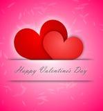 Día de tarjetas del día de San Valentín feliz Fotos de archivo