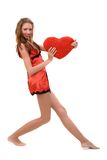 Día de tarjetas del día de San Valentín a la serie Fotografía de archivo