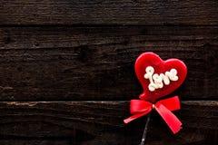 Día de tarjetas del día de San Valentín y el día más dulce Fotografía de archivo libre de regalías