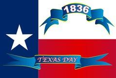 Día de Texas State Flag For Texas Imagen de archivo libre de regalías