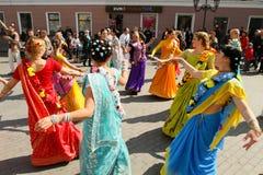 Día de tontos de abril en Ucrania. Fotos de archivo