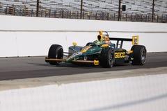 Día de Tony Kanaan 82 Indianapolis 500 poste Indy 2011 Imagen de archivo libre de regalías