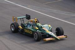 Día de Tony Kanaan Indianapolis 500 poste Indy 2011 fotografía de archivo