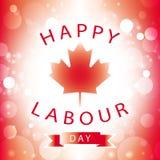 Día de trabajo feliz de Canadá Imagenes de archivo
