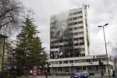 Día de Tuzla después de la demostración Imagen de archivo libre de regalías