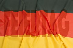 Día de unidad alemana Imagenes de archivo